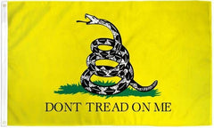 Don't Tread On Me (Gadsden) UltraBreeze 3x5ft Poly Flag