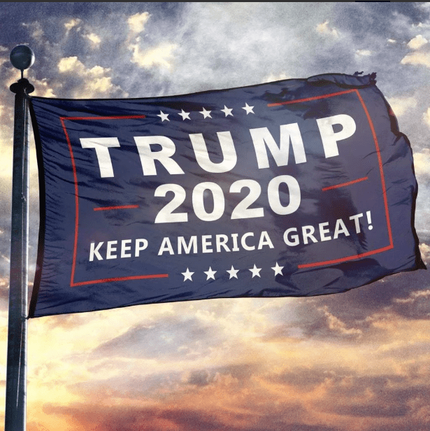 President Donald Trump Keep America Great KAG Flag 3X5 ft. Poly