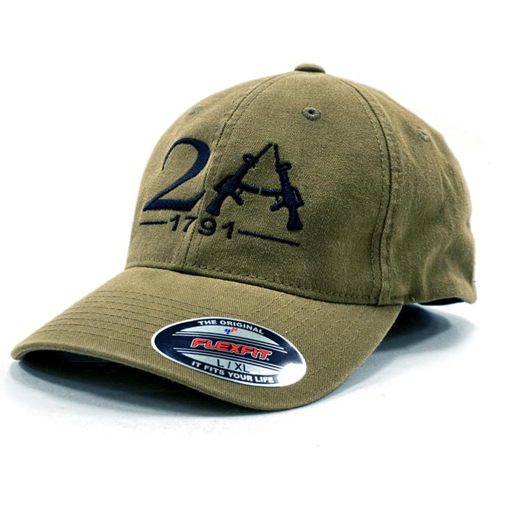 2A 1791 Flexfit Fitted Hat (O)