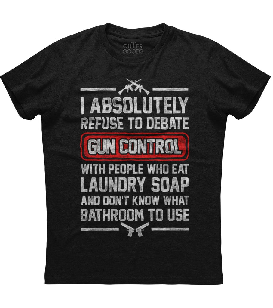 Gun Control 2nd Amendment T-Shirt (O)