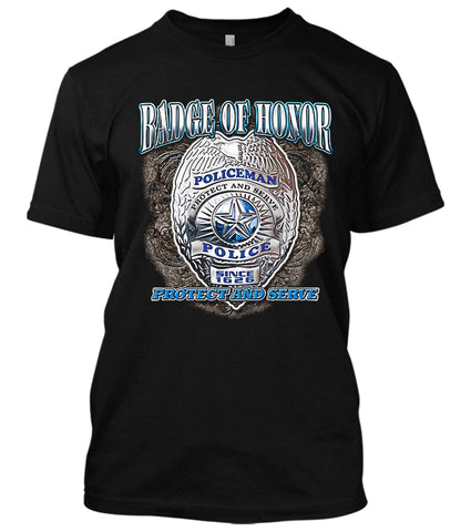 Badge Of Honor T-Shirt