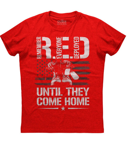 Remember Everyone Deployed Until They Come Home T-Shirt
