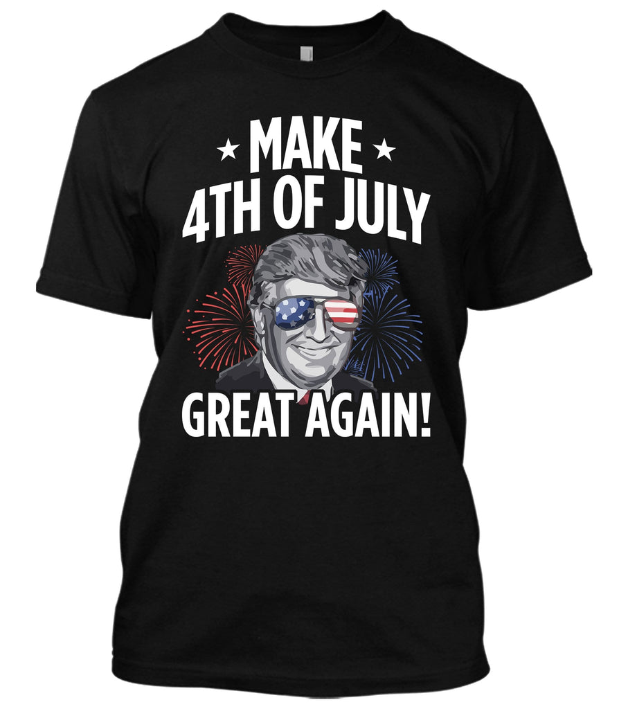 Make 4th of July Great Again Donald Trump T-Shirt
