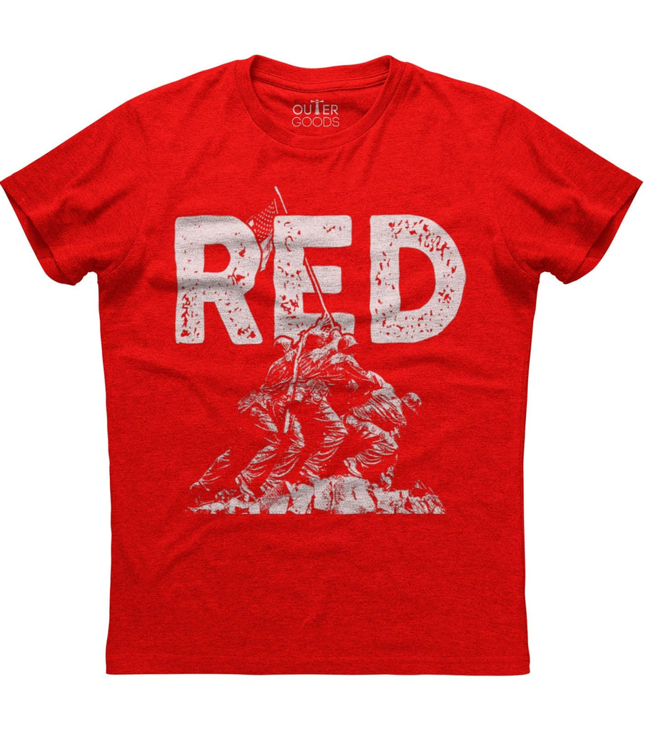 Remember Everyone Deployed Until They Come R.E.D T-Shirt (O)
