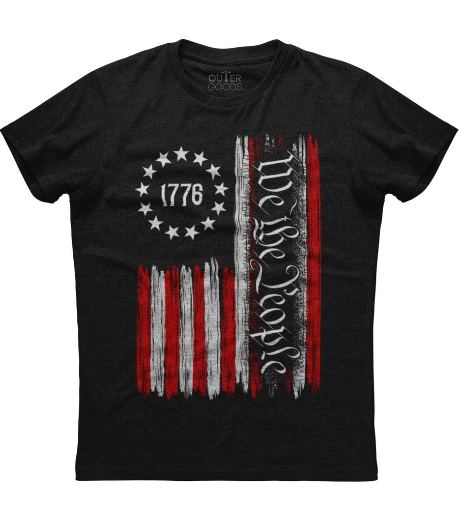 We The People American Constitution 1776 Patriotic  T-Shirt