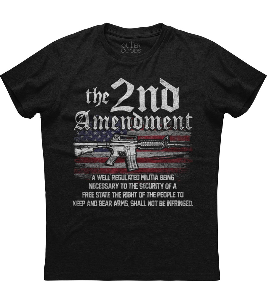 The 2nd Amendment T shirt (O)