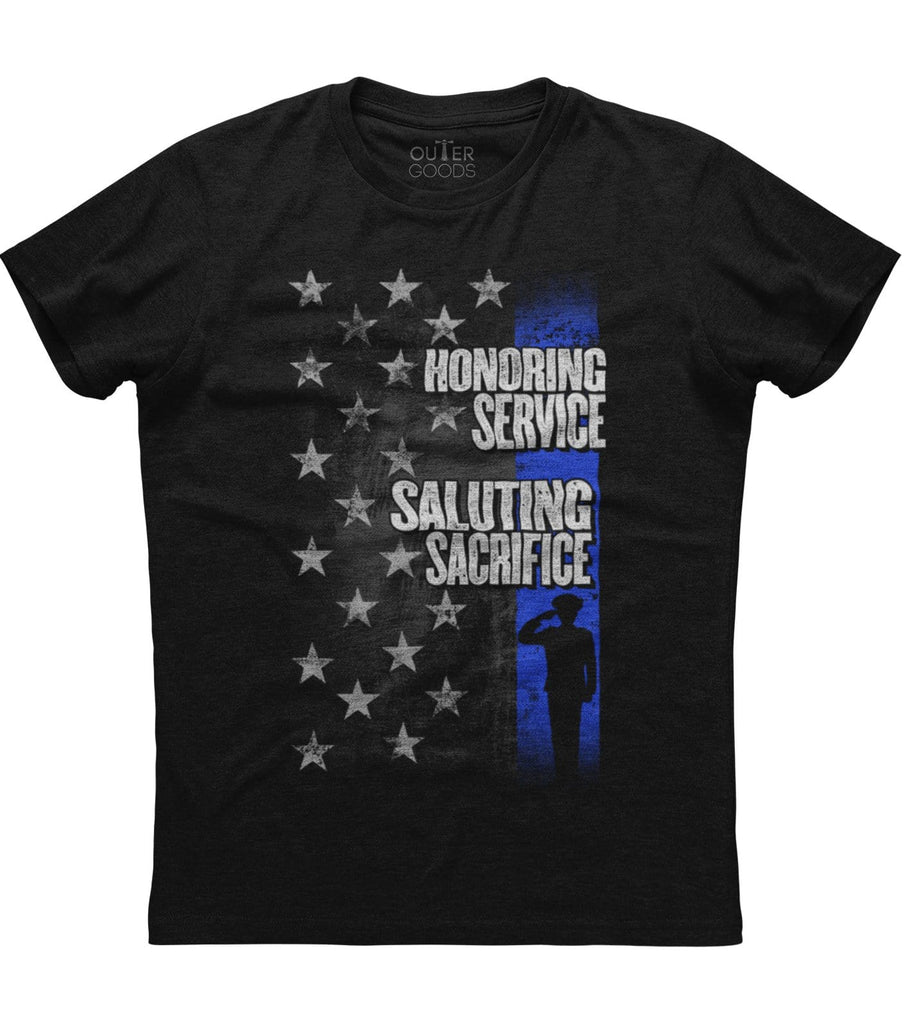 Honoring Service Saluting Sacrifice T-Shirt (O)