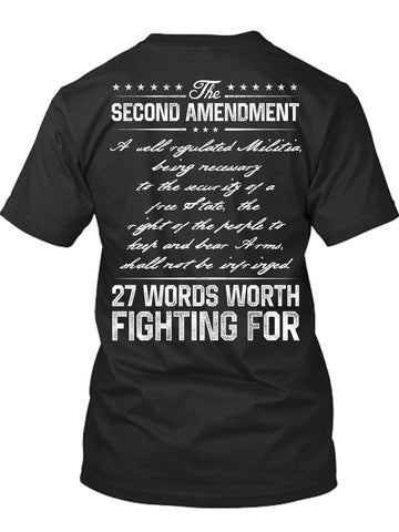 Words Worth Fighting For T-Shirt