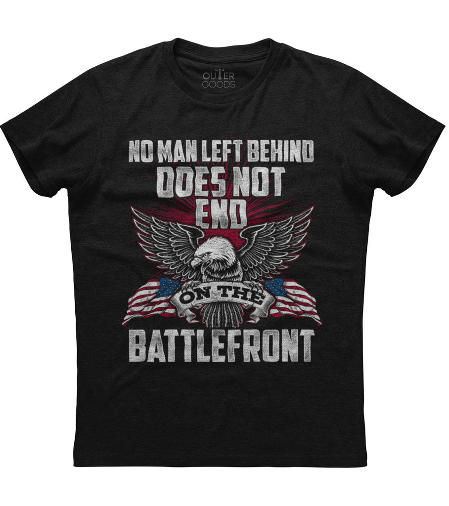 No Man Left Behind On The Battlefront T-Shirt (O)