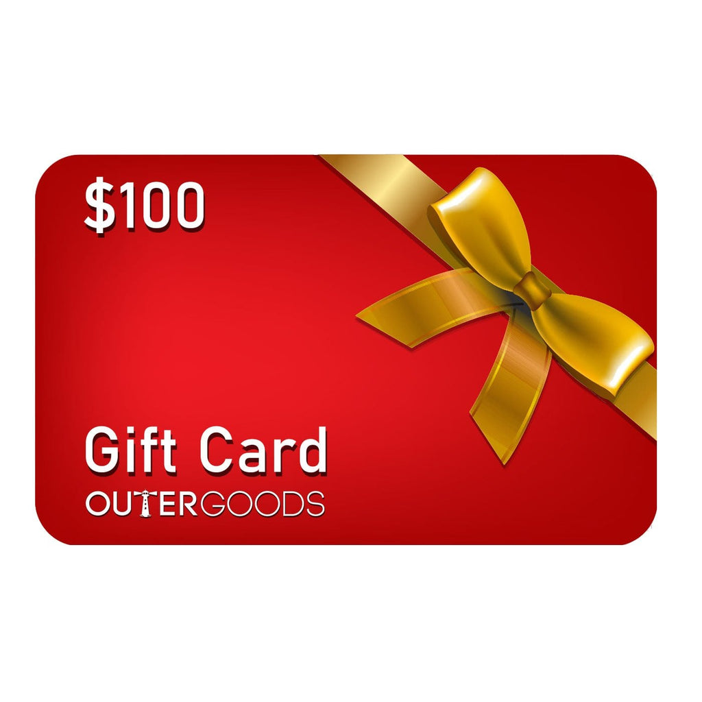 $100 Outergoods Gift Card