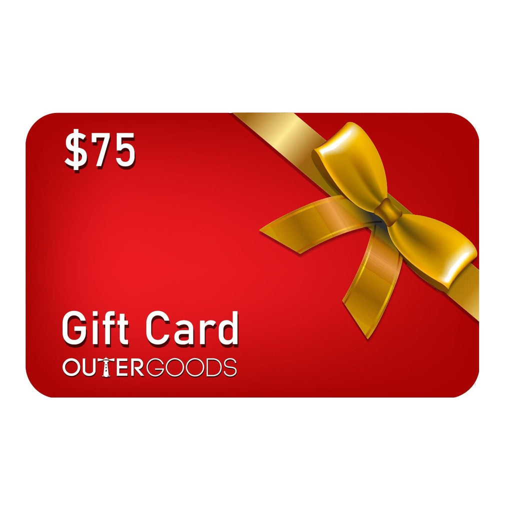 $75 Outergoods Gift Card