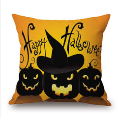 Halloween Cotton Pillow Case Home Decor