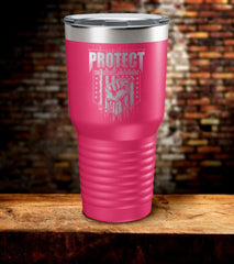 Protect The Second Amendment Tumbler (O)