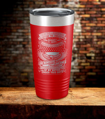 I Once Took A Solemn Oath To Defend The Constitution Tumbler (O)