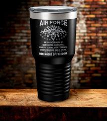 Air Force Defenders Of Freedom Tumbler (O)