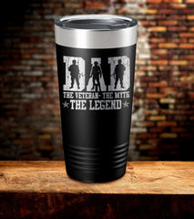 Dad The Legend Tumbler