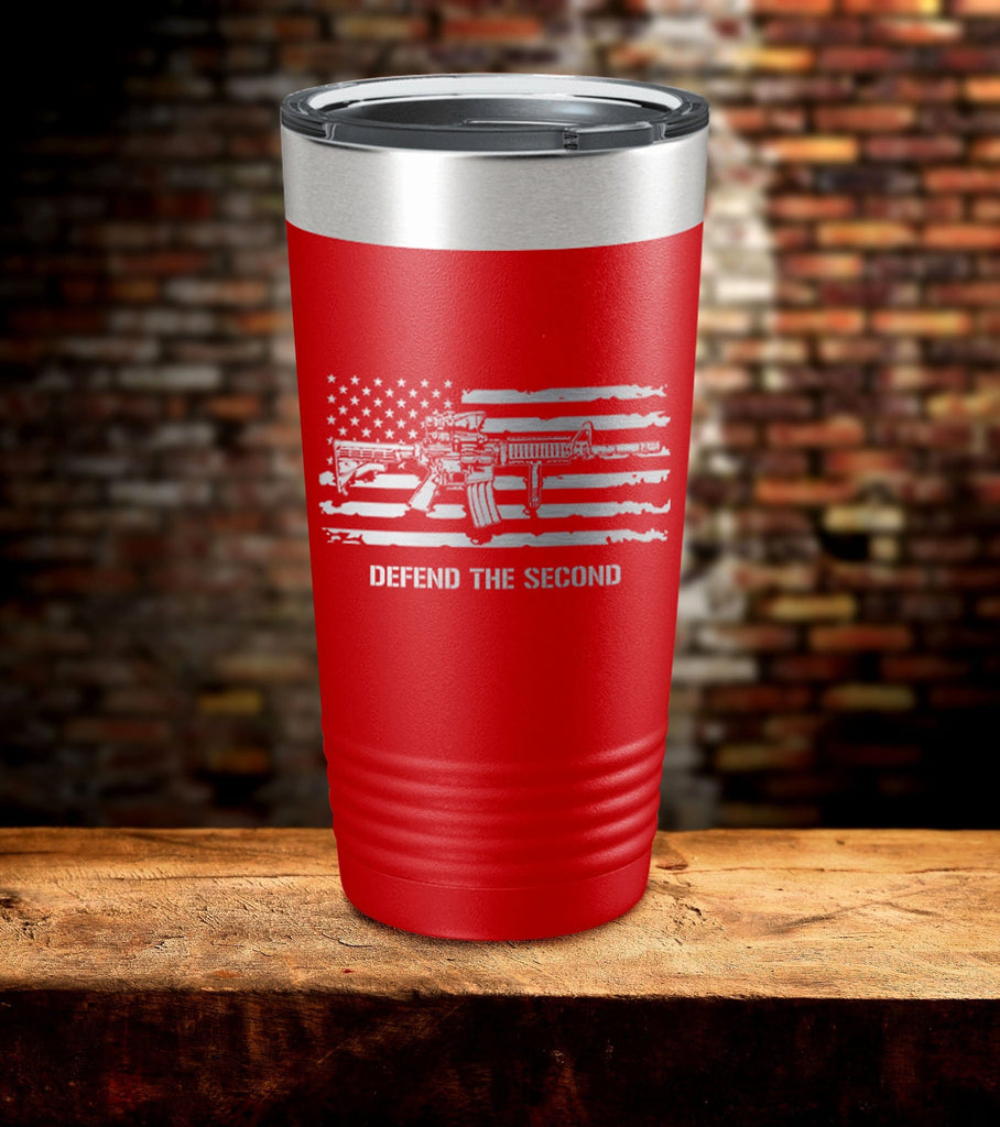 Defend The Second American Flag Tumbler (O)