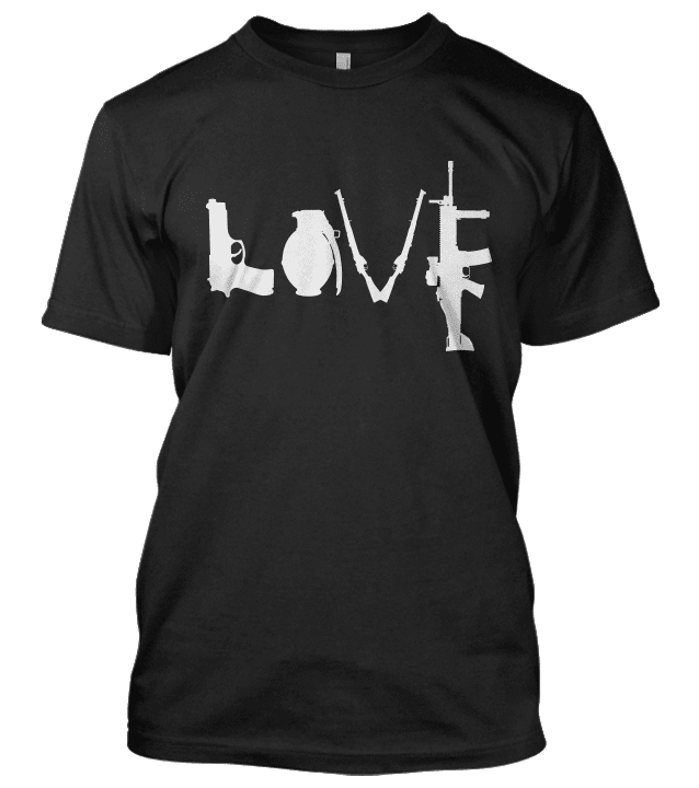 Love Weapons Shirt