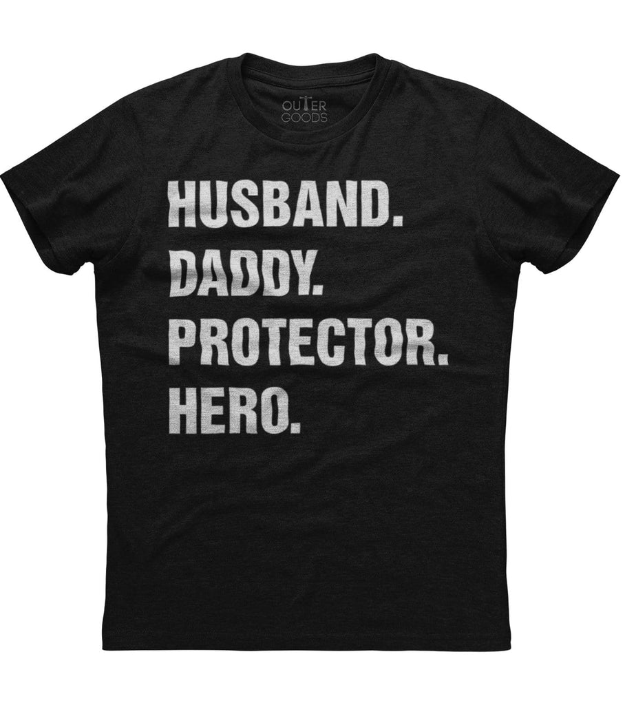 Husband Daddy Protector Hero T-Shirt (FD20)