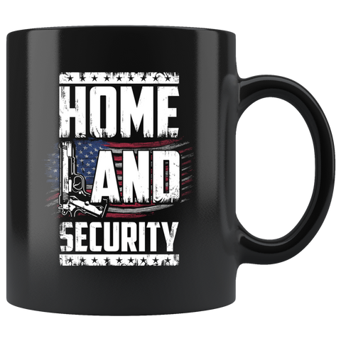 Home Land Security America Mug