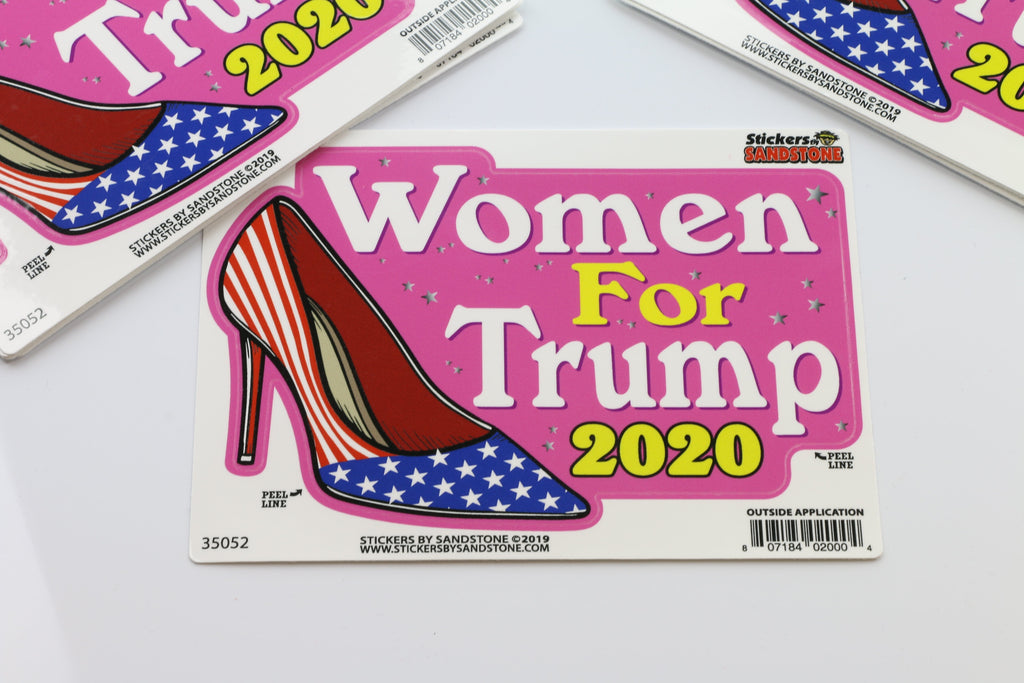 Women for Trump 2020 Stickers
