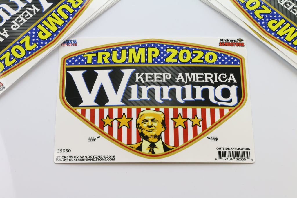 Trump 2020 Keep America Winning Sticker