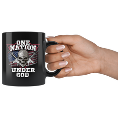 One Nation Under God America Mug