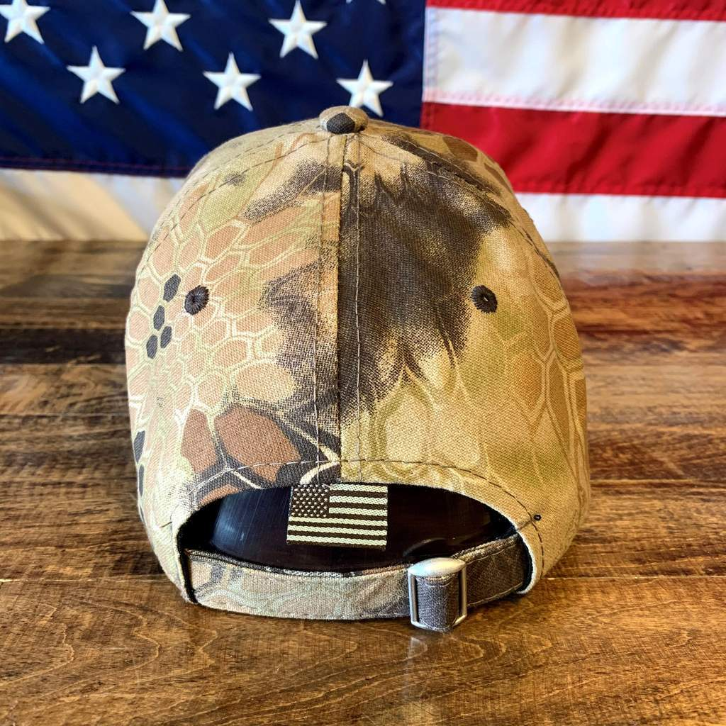 2nd Amendment 1791 Authentic Kryptek Camo Hat