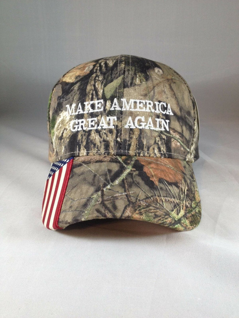 Donald Trump MAGA 2020 Authentic Mossy Oak Hat