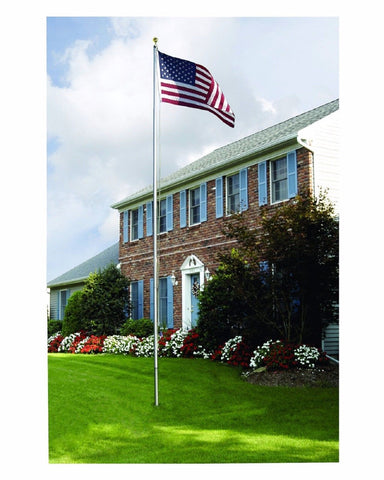 20' FT American Flag Pole - Made In US