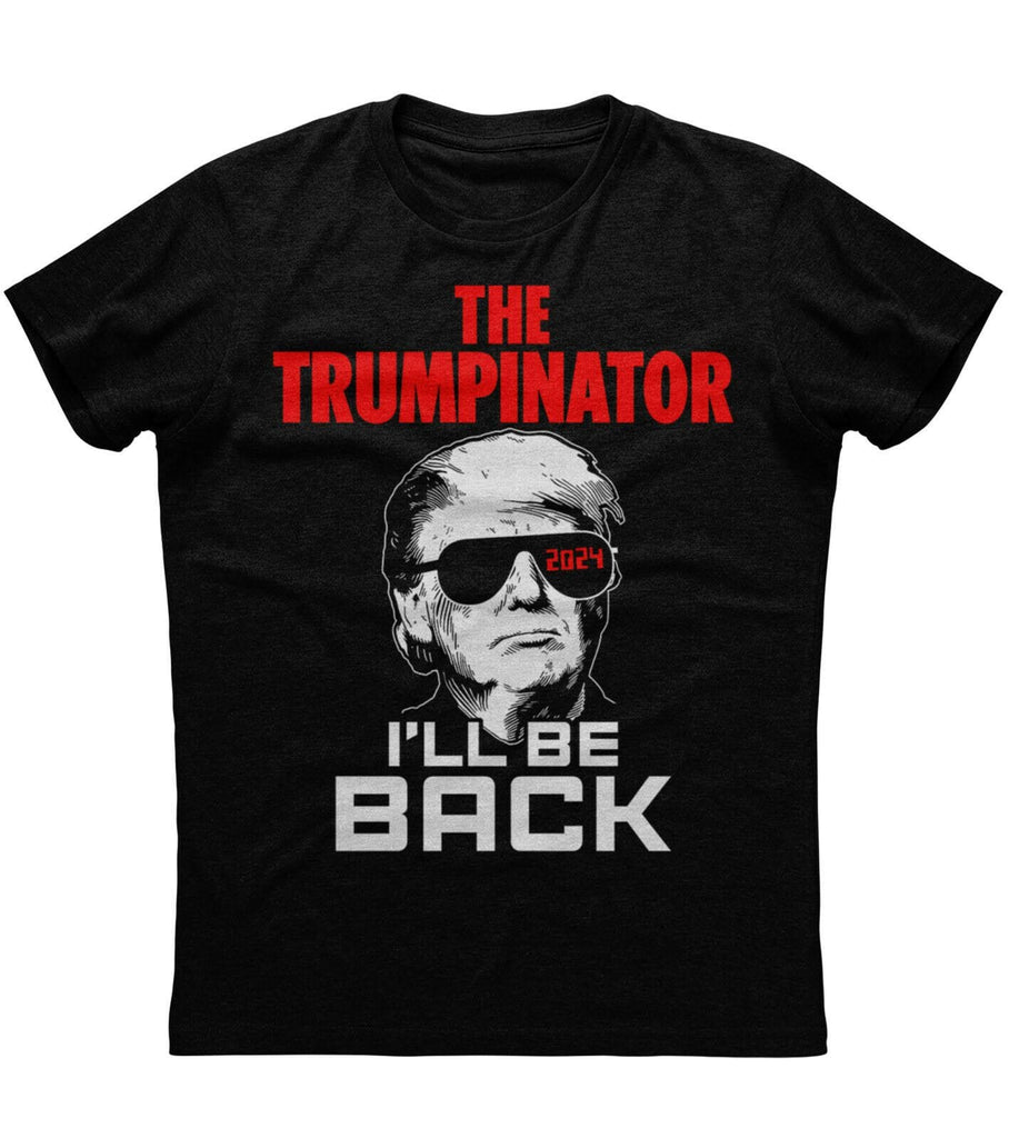The Trumpinator 2024 Make America Great T-Shirt (O)