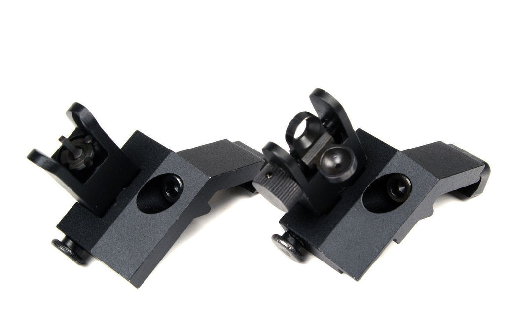 45 Degree Front & Back Up Iron Sights