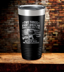 Two Things Every American Should Know How To Use Holy Bible Tumbler