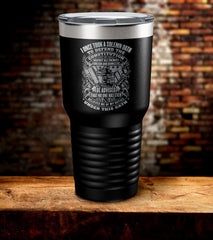 I Once Took A Solemn Oath To Defend The Constitution Tumbler