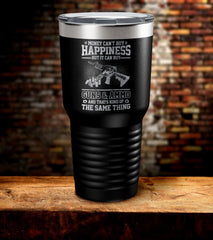 Money Can't Buy Happiness But It Can Buy Guns & Ammo Tumbler