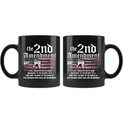 2nd Amendment American Flag Mug