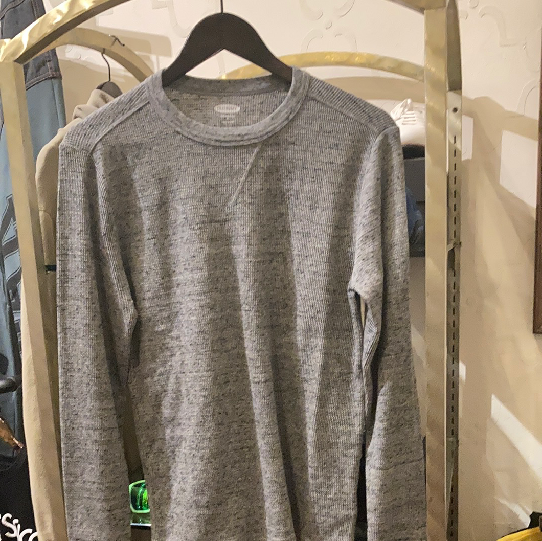 Old Navy grey thermal