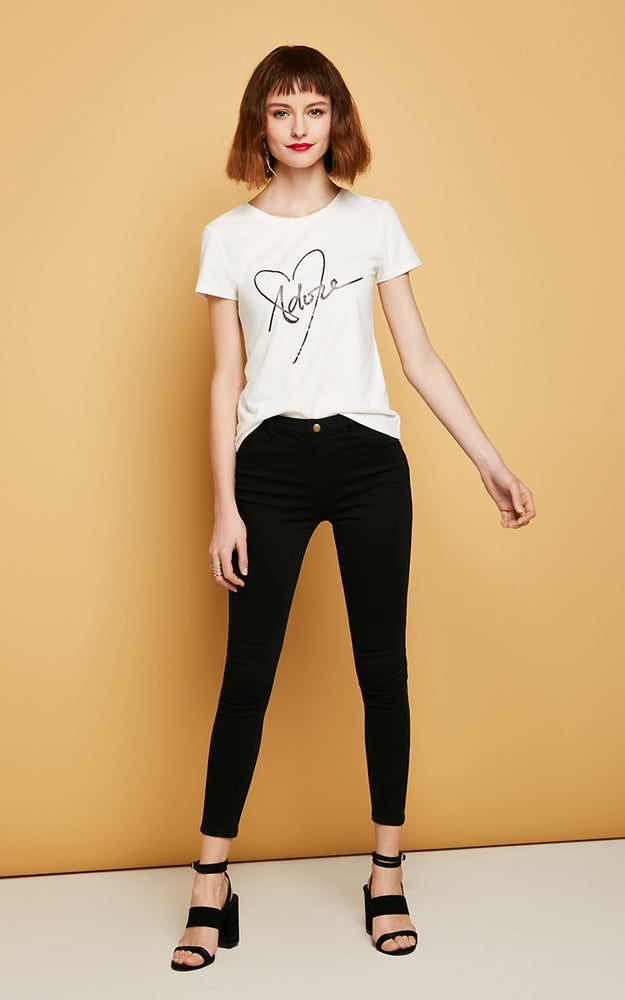 Vero Moda Slim wrap stretch denim pants Jeans Woman