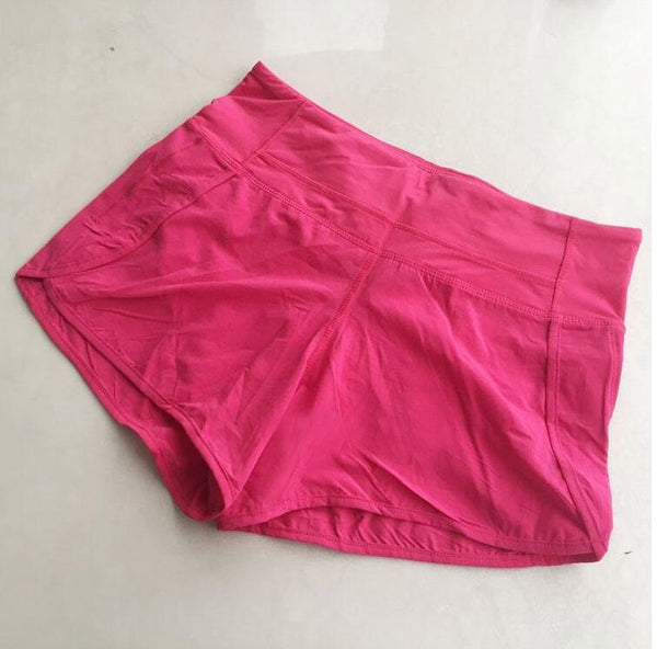 Quick Dry Exercise Yoga Shorts