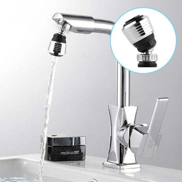 Water Saving Swivel Kitchen Bathroom Faucet Tap Adapter Aerator Shower Head Filter Nozzle Connector