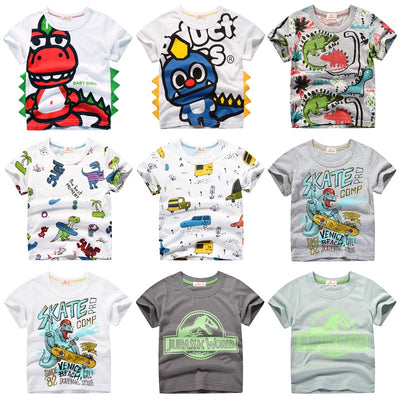 Printed T-shirts for Boys and Girls 5-14 Yrs