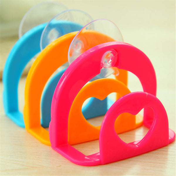 Suction Cup kitchen Sink Sponge Shelf Rack Holder Multi-functional Bathroom Shelf Towel Soap holder Kitchen Organizer cocina