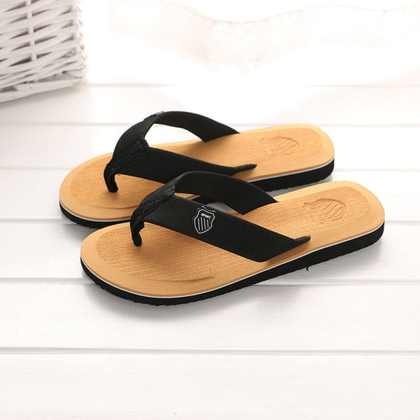 Men Women Flip Flops High Quality Beach Sandals Anti-slip