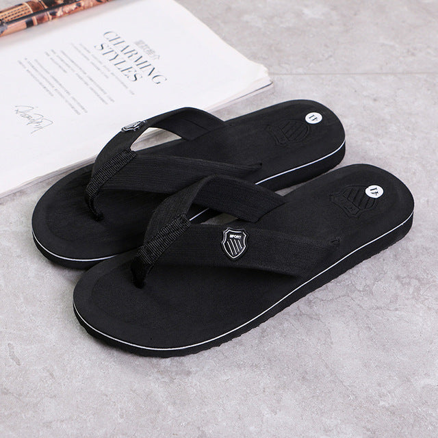 Flip Flops Men Slippers Summer Anti-skid Outdoor Light Casual Beach Male Sandals Household Slipper