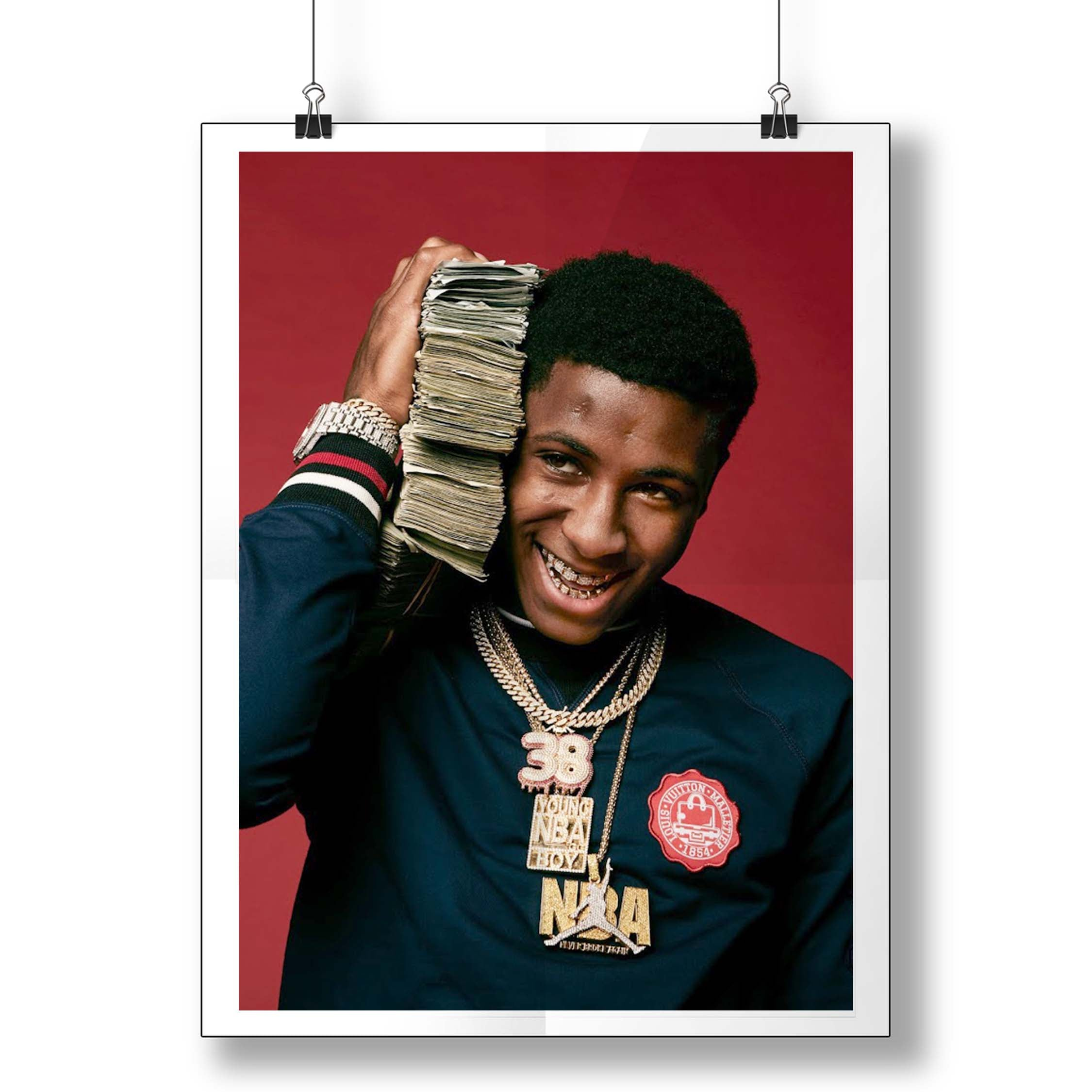 Nba Youngboy Smile Money Poster