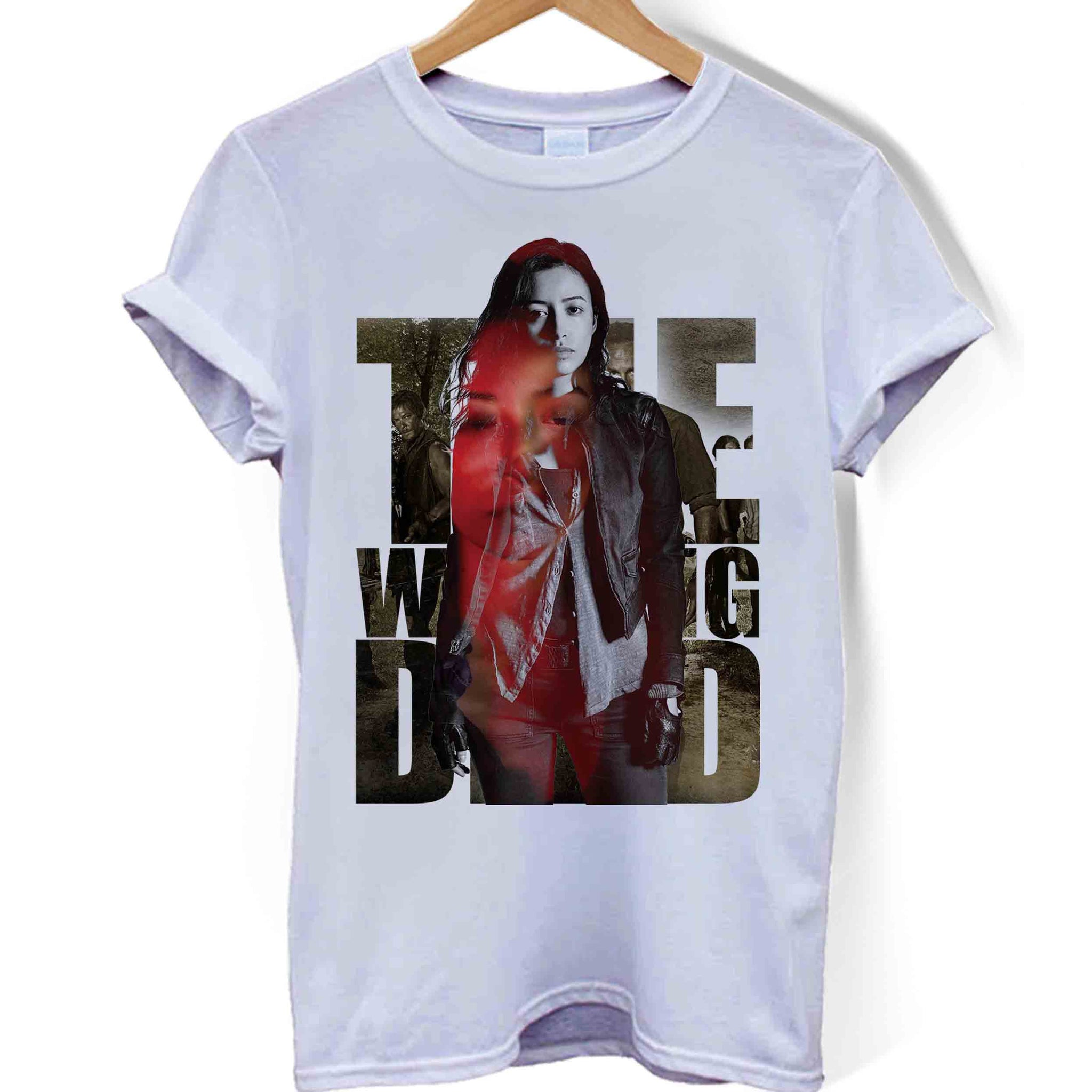 The Walking Dead Season 8 Rosita Man Woman T-Shirt