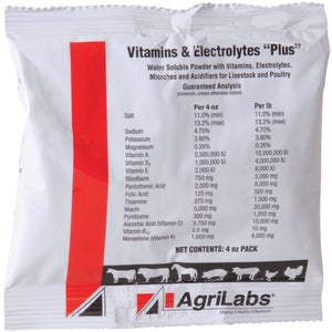 Vitamins & Electrolytes Plus 4oz