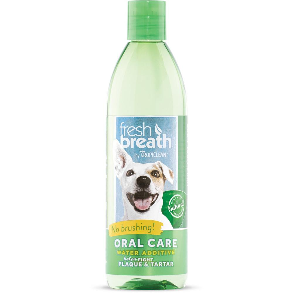 Tropiclean Fresh Breath Water Additive for Dogs & Cats