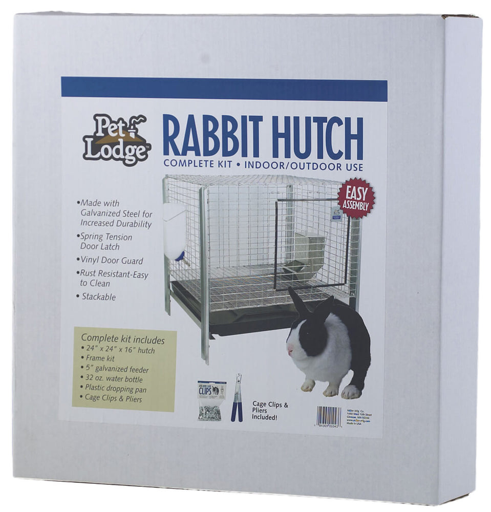 Pet Lodge Rabbit Hutch - Complete Kit