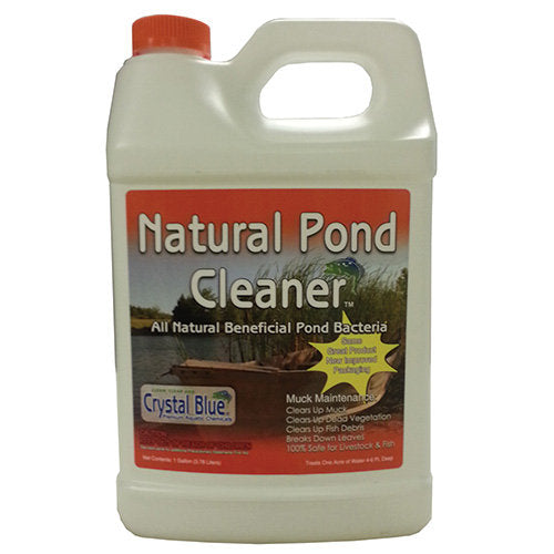 Crystal Blue Natural Pond Cleaner 1gal